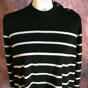 kate spade Sweaters - Kate Spade Broome Street Striped Sweater